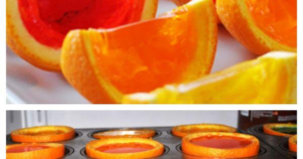 Rainbow Gelatin Orange Wedges | Recipe | Recipe, Wedges ...