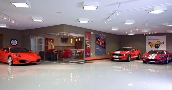 Underground Garage Man Cave : Luxuryhomes customgarages luxurysportscars car