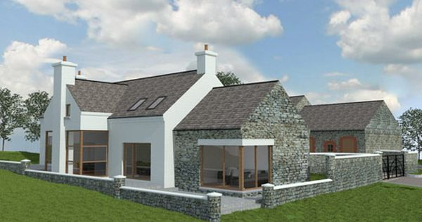Paul mcalister architects the barn studio portadown for Irish cottage plans
