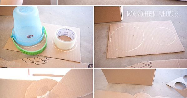 how to make a cardboard plane step by step