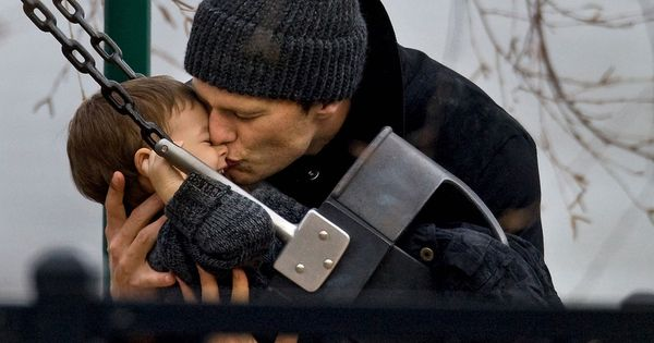 Tom Brady and his baby boy Benjamin ♥