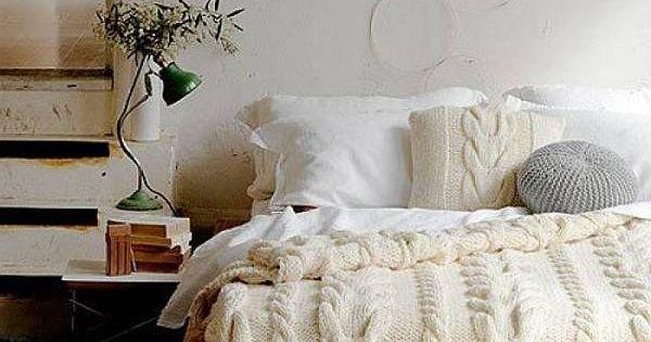 Viste tu cama en un su ter gigante con una manta tejida - Viste tu cama ...