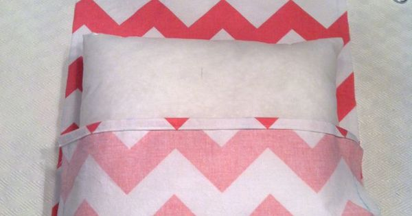 Easy DIY Fold Over Pillowcase...make cute pillows for any room. Sewing Pinterest Pillows