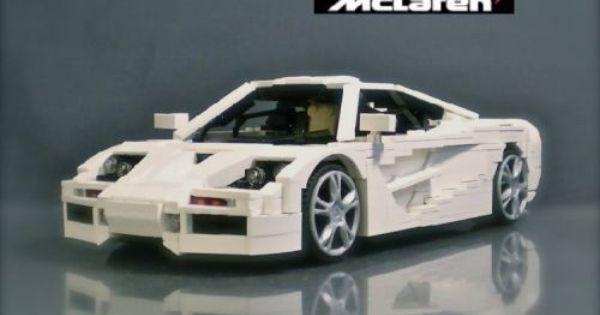 Lego Mclaren F1 By Ryan Link Lego Cars Lego Super Cars