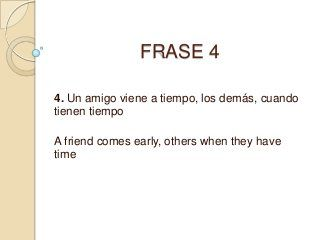 Frases En Ingles Traducidas A Español English Love