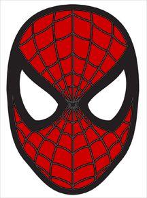 Elf On The Shelf Spider Man Mask Free Printable Mask Spiderman