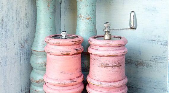 Never pass up a set of wooden salt & pepper mill at