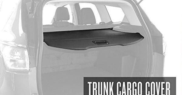 Tyger Trunk Cargo Cover For 2013 2016 Ford Escape Black