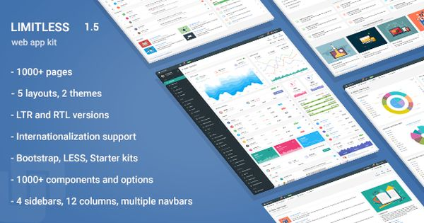 Limitless Responsive Web Application Kit