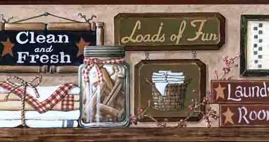Laundry Room Wallpaper Designs In 2020 Wallpaper Border Room