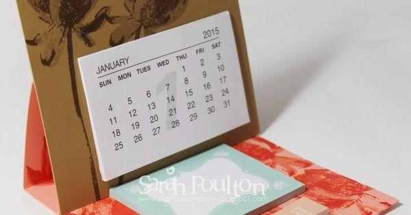 Year Up Calendar : Stampin sarah happy new year saleabration sneak