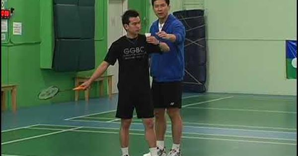 Badminton The Forehand Long Serve Featuring Kevin Han Badminton Badminton Sport Badminton Serve
