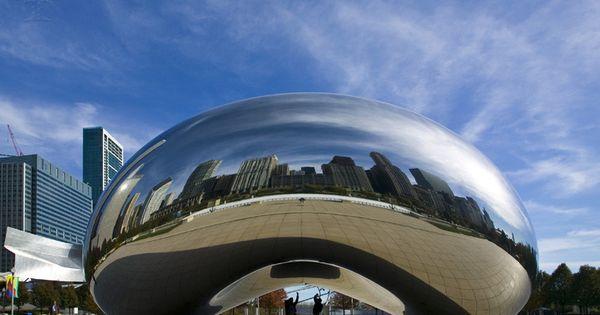 Chicago Cloud Gate 800x551