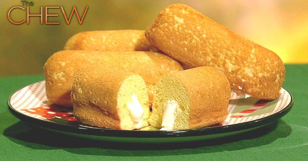 Michael Symon's Homemade Twinkies Recipe by Michael Symon - The Chew