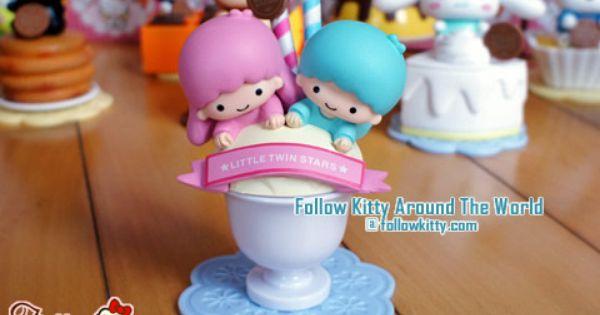 Little Twin Stars Sundae Little Twin Stars Hello Kitty Kitty