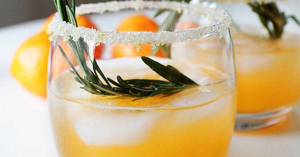 winter sun: vodka . triple sec . clementine . lemon . rosemary