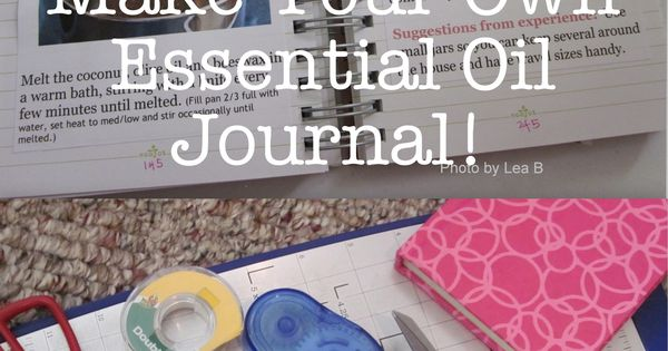 How to Journal Your Essential Oil Discoveries - This will be a