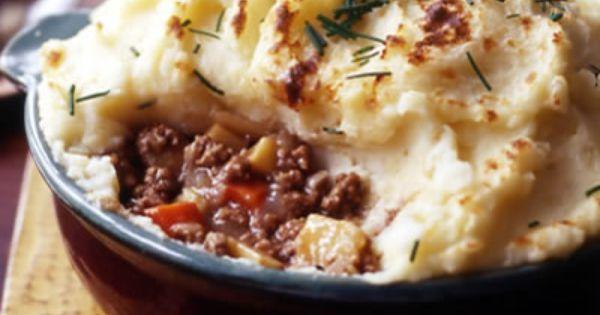 Horseradish-Mashed Potato Topped Shepherd's Pie Every Day with Rachael ...