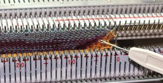 Knitting Socks on the Standard Machine by Diana Sullivan