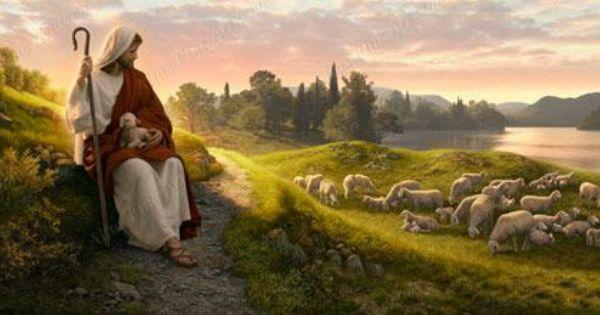 Dear To The Heart Of The Shepherd By Simon Dewey O Bom Pastor