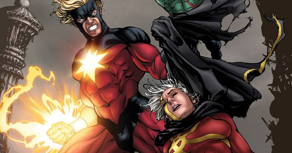 Drax The Destroyer Vs Venom: Captain Marvel Vs. Quasar & Drax The Destoyer By David