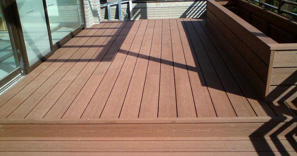 Trex Composite Decking Unit Weight Pvc Flooring Advantages Disadvantages Walkout Wood Or Concrete Deck Indretning