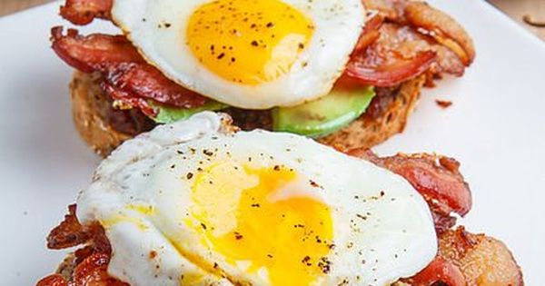 Bacon Jam Breakfast Sandwich with Fried Egg and Avocado | Recipe ...