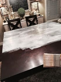 Painting Over Veneer Diy Tutorial Kitchen Table Makeover
