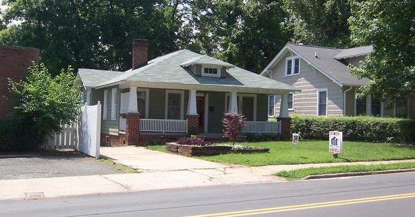1929 bungalow arts crafts home in for Craftsman homes in charlotte nc