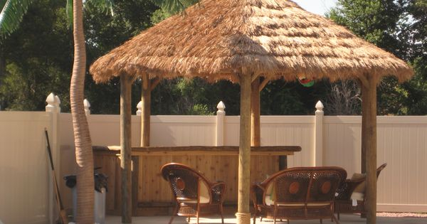 DIY Build Your Own Tiki Hut And