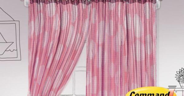 Cuelga las cortinas con ganchos command deja de lado los for Ganchos para recoger cortinas