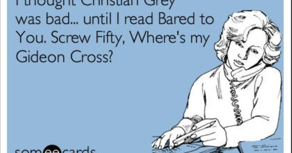 Crossfire Gideon Cross Bared to You- this shall be my next read!