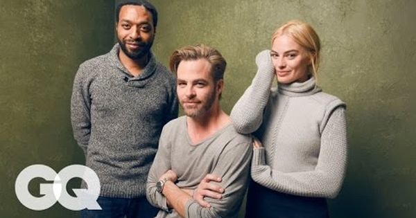 Margot Robbie Chiwetel Ejiofor And Chri Pine On Their Film Z For Zachariah Detail Essay