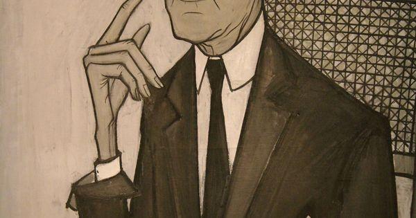 Portrait 1955 de jean cocteau 1889 1963 par bernard for Bernard buffet cote