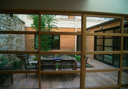 Maison loft en bois patios lofts and outdoor spaces - Maison jardin en bois bordeaux ...