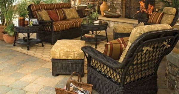 Lane Venture Replacement Cushions Hemingway Narural