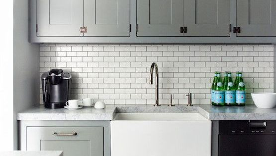 20 Stylish Ways To Work With Gray Kitchen Cabinets White