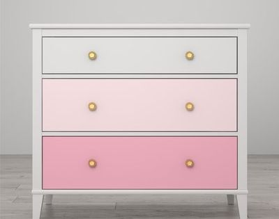 Little Seeds Monarch Hill Poppy 3 Drawer Dresser 3 Drawer Dresser Set Of Drawers Dresser Drawers