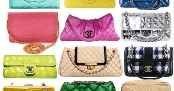 Colorful Chanel Bags