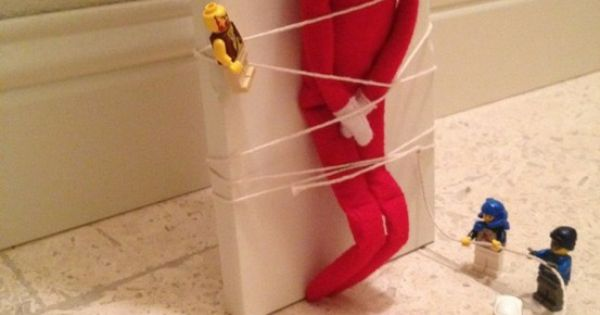 Elf on shelf ideas fun Christmas diy kids activity