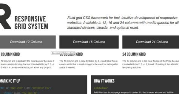 Responsive Css Framework Responsive Grid System Responsive Grid Web Development Design