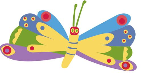 Image result for kids drawing butterfly