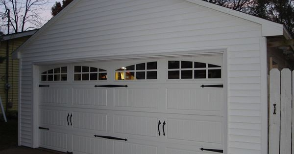 Detached garage for end of driveway but 2 separate doors for Separate garage