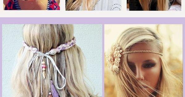 Coachella Festival Hair Tutorials | COACHELLA IS A MUSIC FESTIVAL NOT A