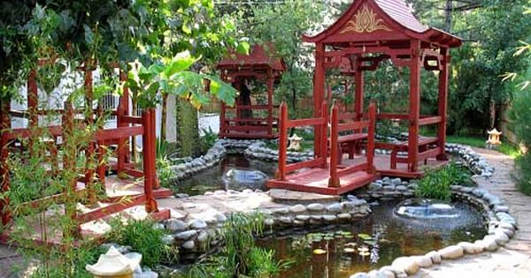 Feng Shui Tips For House Exterior Designs Japanese Garden Design Chinese Garden Garden Design