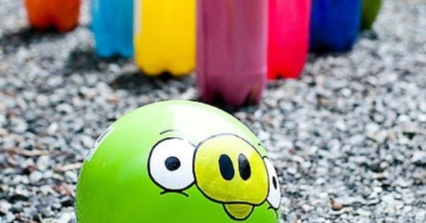 angry bird birthday party ideas - game ideas