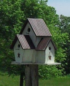 Birdhouses Pine Birdhouses Primitive Birdhouses Country Birdhouses