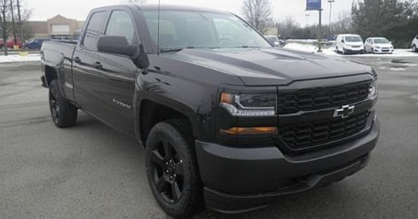 2016 chevrolet silverado blackout edition new pickup trucks pinterest chevrolet silverado. Black Bedroom Furniture Sets. Home Design Ideas