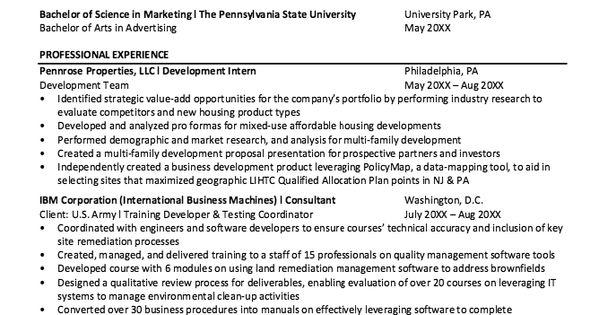 nasa student co-op resume sample    resumesdesign