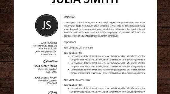 cover letter creative modern the kate word doc cover letter